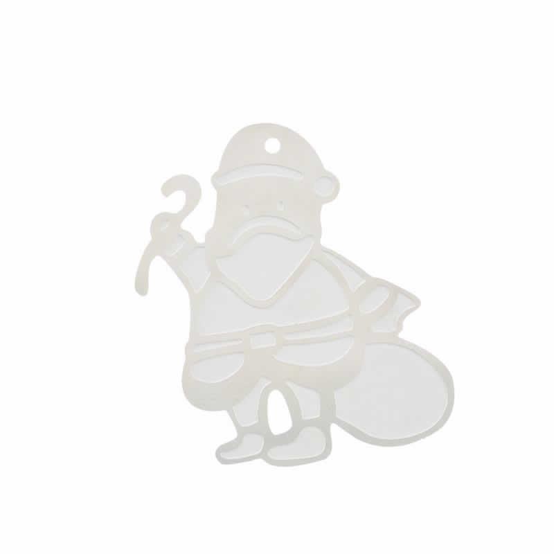 ピアス専門店グリーンピアッシングクリスマスステンレスパーツ(サンタクロース)