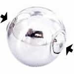 <グリーンピアッシング> スプリングビーズリング用ボール画像