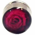 <グリーンピアッシング> 薔薇 サージカルステンレス マグネットピアス画像