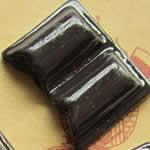 <グリーンピアッシング> ビターチョコレート アクリルアクセサリーパーツ画像