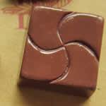 <グリーンピアッシング> キャラメルチョコレート アクリルアクセサリーパーツ画像
