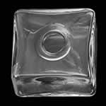 <グリーンピアッシング> 20mmガラススクエアボトルパーツ画像