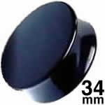 <グリーンピアッシング> メガアクリルプラグ/34.0mm