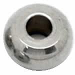 2mm 革ひも/テグス用 ステンレス リングパーツ