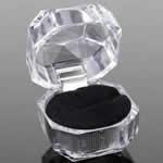 ギフトボックス 指輪用 ラッピング用品 /ブラック
