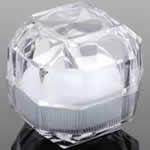 ギフトボックス 指輪用 ラッピング用品 /ホワイト
