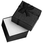 ブラックスモールリボンラッピングボックス