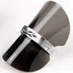 ソフトリングスタンド 指輪用/グレイ