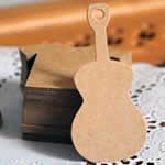 ペーパータグ 台紙 ギター/5枚セット