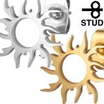 太陽フレイム ステンレスピアス