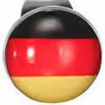 ドイツ国旗 ステンレス ピアス