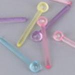 カラフル樹脂ボールピアスポスト /アソート10個セット