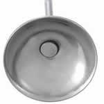 6mm丸皿カップ型 ステンレス ピアス ポスト金具