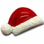 クリスマス帽子 アクリル樹脂 アクセサリーパーツ