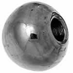 ステンレス3mmボールパーツ(0.8mmホール)
