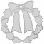 クリスマス ステンレス アクセサリーパーツ / リース