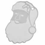 クリスマス ステンレス アクセサリーパーツ / サンタさん