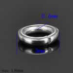 ステンレス 丸カン 3.0mmx0.6mm/50個セット