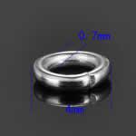ステンレス 丸カン 4.0mmx0.7mm/50個セット