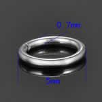 ステンレス 丸カン 5.0mmx0.7mm/50個セット