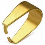 バチカン ゴールドカラー 2Mサイズ サージカルステンレス