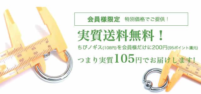 ノギスが実質送料込みで105円!